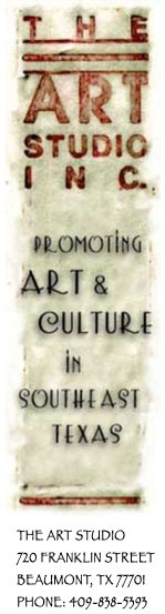 The Art Studio Inc. in Beaumont, TX. Supporting local art!
