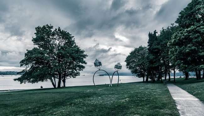 Public Art Near The Water Is Beautiful Vancouver My Home Town Pin