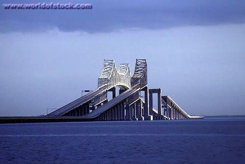 Sunshine Skyway Bridge, Florida, Before it was rebuilt