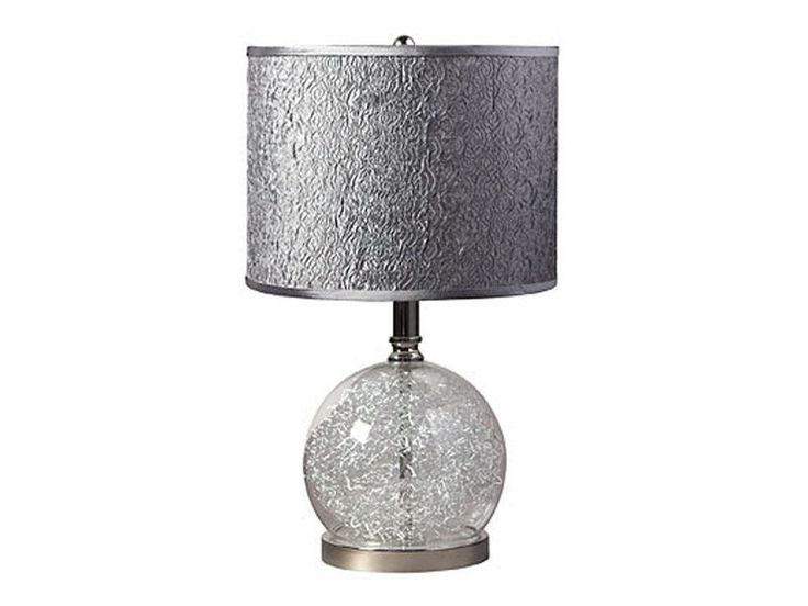 CORT's Glass Globe Table Lamp