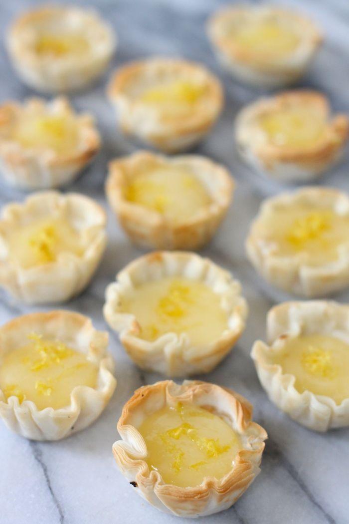 Mini Lemon Cheesecake Recipe — Dishmaps