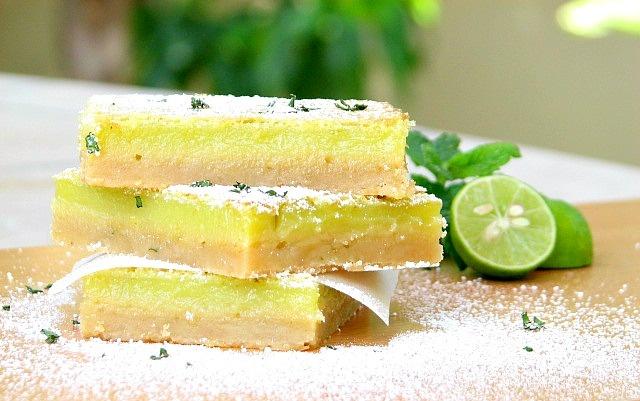 Key Lime Bars | Decadent Desserts | Pinterest
