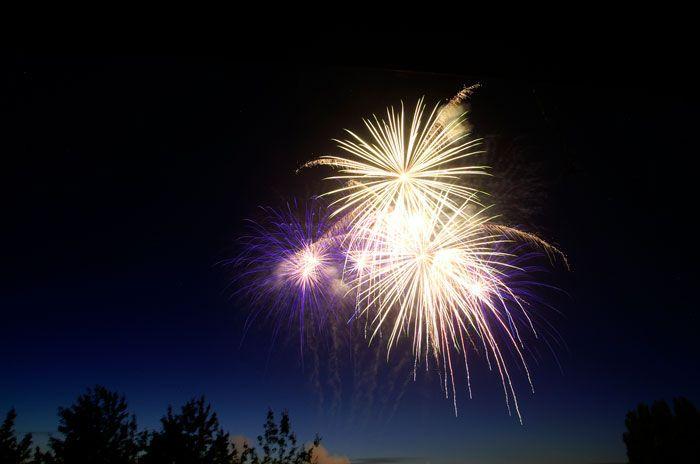 4th of july fireworks bay city mi