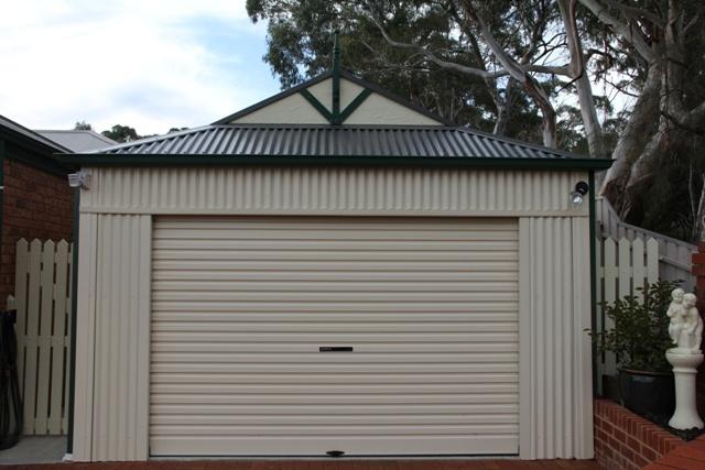 Dutch gable garage garage pinterest for Gable garage