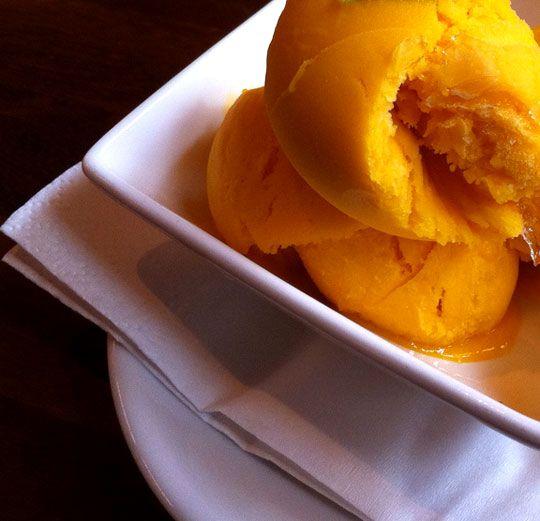 Mango Sorbet Recipe - Mango Ice Cream Recipe