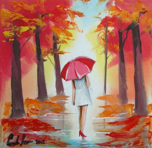 Pin by angela vasconcelos on umbrellas art pinterest for Painting red umbrella