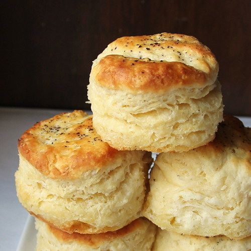 Cheesed & peppered biscuits :)