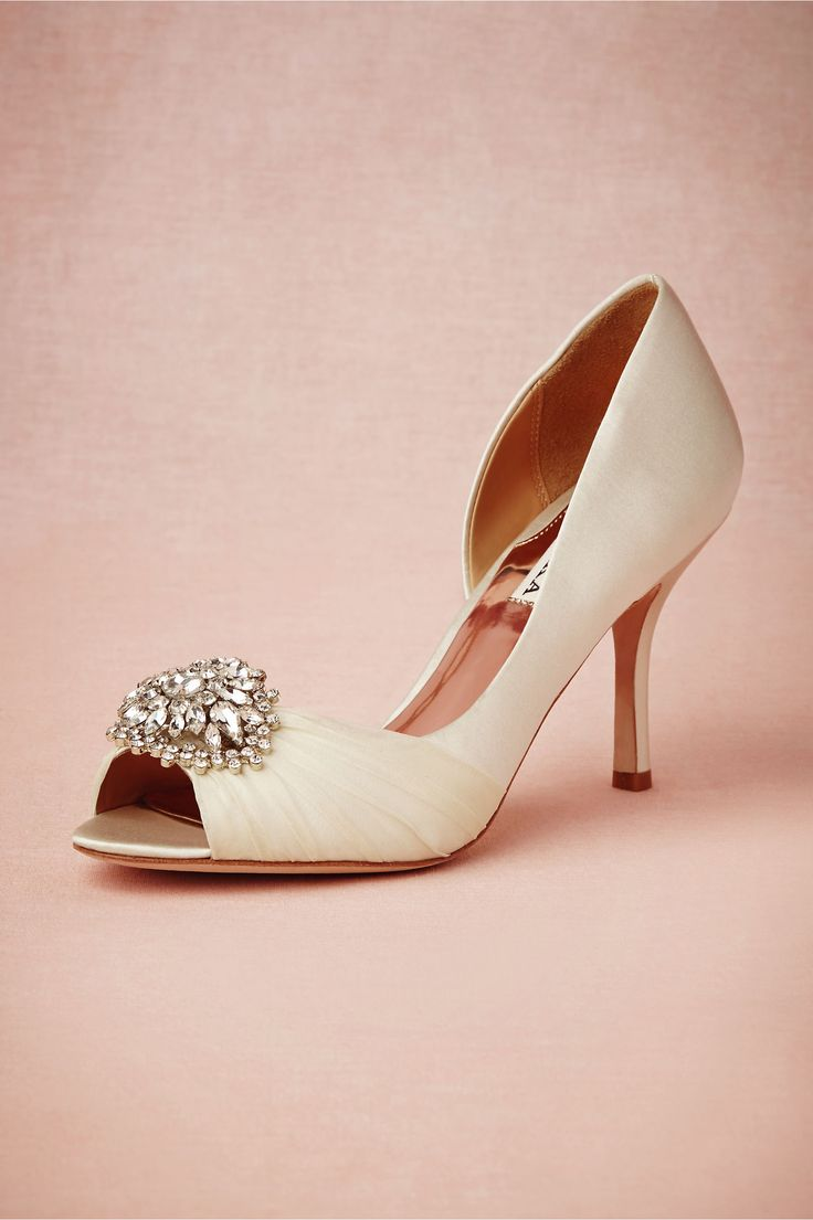 Light blue heels wedding