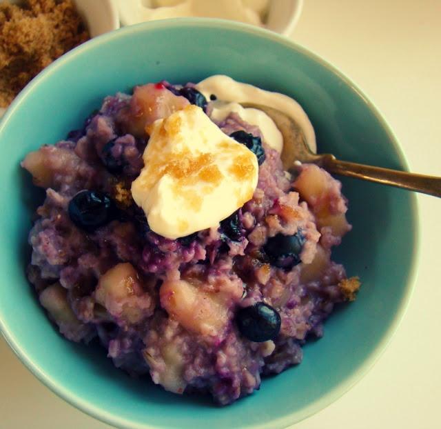 Family Feedbag: Blueberry banana oatmeal | Operação Verão ...
