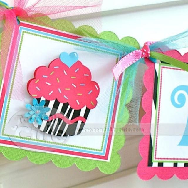 Diy birthday banner party ideas pinterest