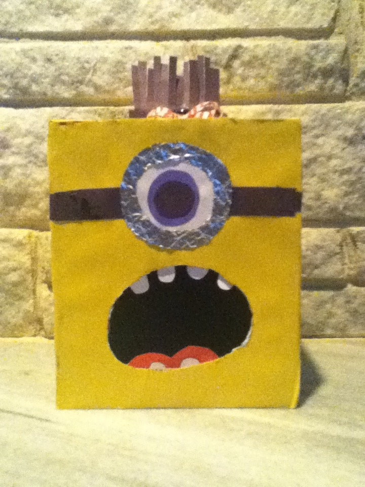 despicable me valentines day box