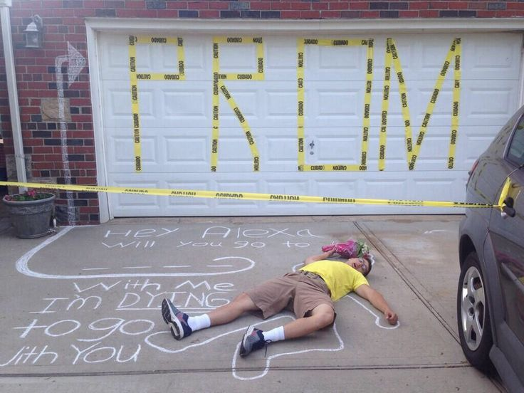 Asking To Prom Pinterest Cute Prom-posals Very ...