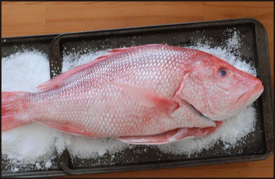 Whole Fish Roasted in Salt Crust | Food I Love & Want | Pinterest