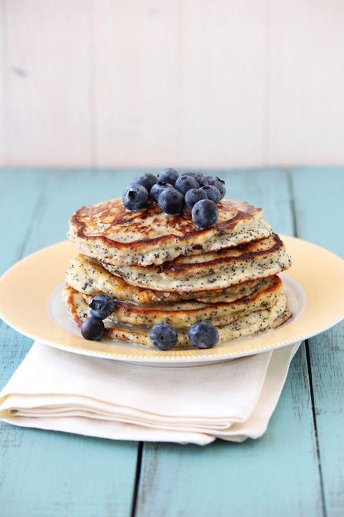 fattributes: Lemon Poppy Seed Pancakes | Foodp0rn | Pinterest