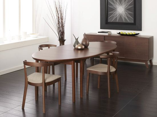 Oval Walnut Dining Table Vejle Dining Table Dania