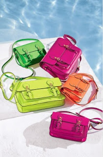 Neon bags perfect for summer! Learn how to wear em.