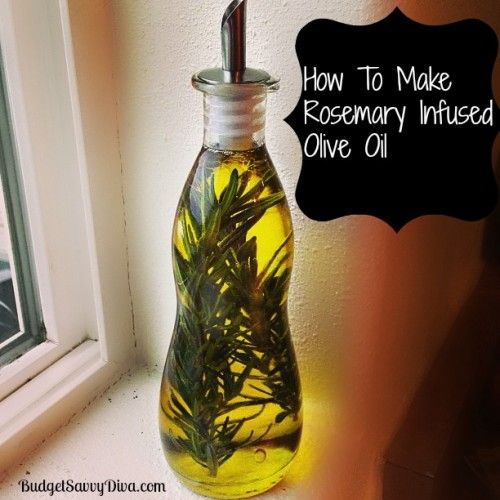 To Make Rosemary Infused Olive Oil Recipe I used Pompeian Olive Oil ...