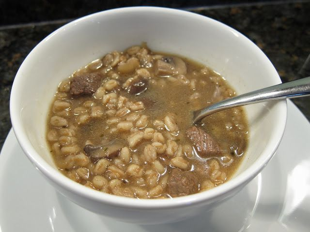 Beef, Mushroom & Farro Soup | Soup of the evening, beautiful Soup ...