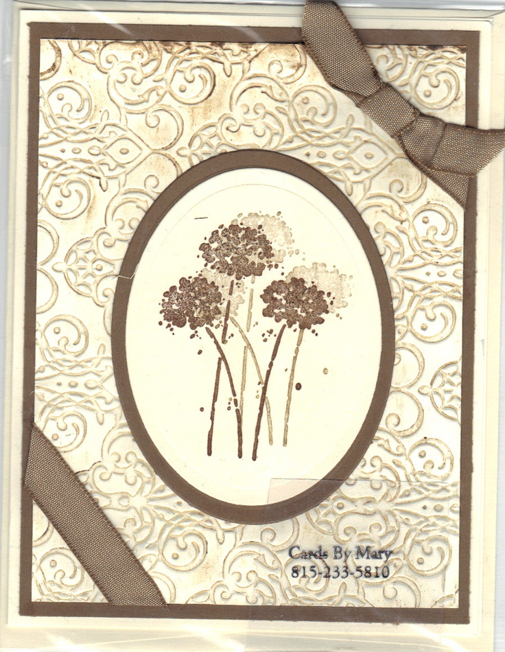 Stampin up anniversary card cards pinterest