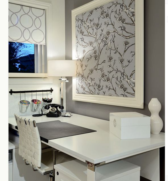 Office decorating ideas on pinterest images Amazing home office designs