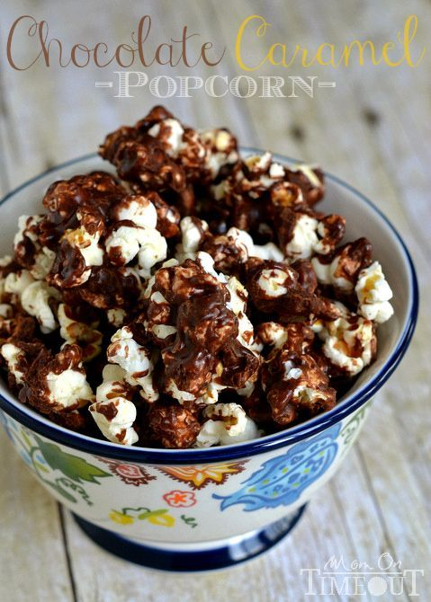 Chocolate Caramel Popcorn. | Candy, Sweet Candy and Popcorn Treats ...