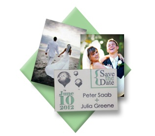 Fun Idea: Upload your save the date images onto our magnets and send them out to your guests! Stick it on the fridge as a constant reminder!