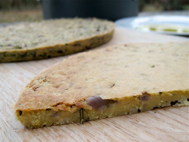 This vegan socca or farinata is to die for and it is SOOO easy ...