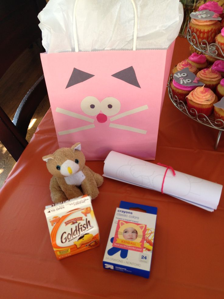 Cat Party Favors Party Ideas Pinterest