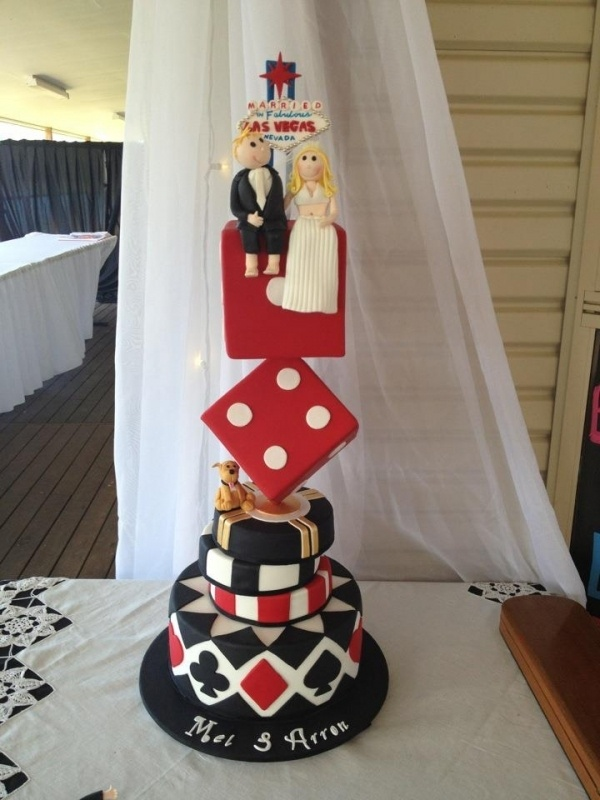 Las Vegas Wedding Cake Vegas Maybe Pinterest