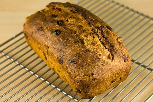 Cinnamon Raisin Walnut 100% Whole Wheat Bread