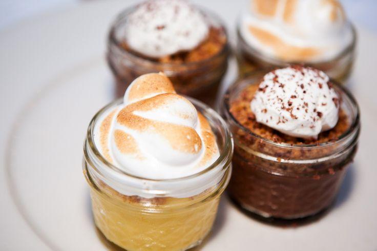 LMR Meyer Lemon Meringue Pies & Little Scharffenberger Chocolate Cream ...