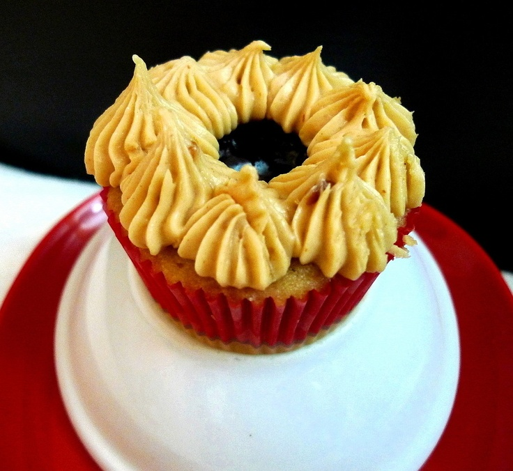 Peanut Butter and Jelly Cupcakes | Cupcakes & Muffins | Pinterest