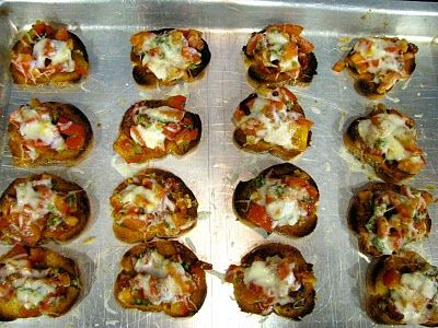 Double Tomato Bruschetta | sandwiches & wraps | Pinterest