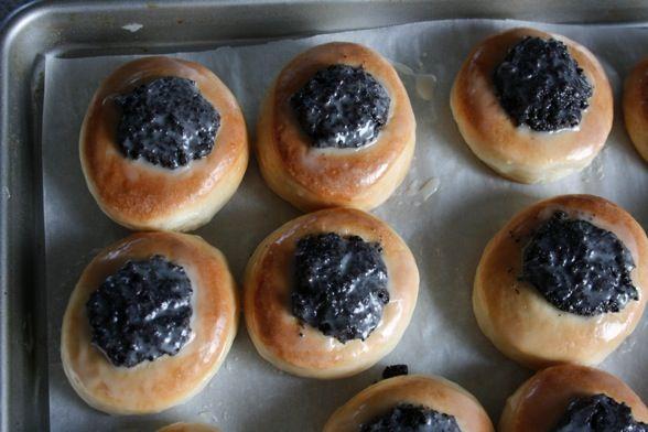 Kolaches with Poppy Seed Filling | brunch; breakfast | Pinterest