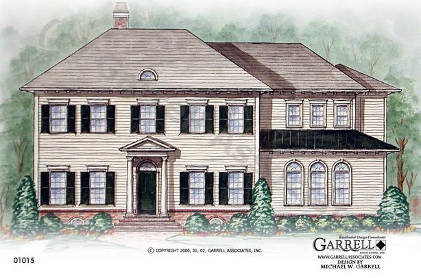 Pin by garrell associates incorporated on house plans for Classic home designs inc