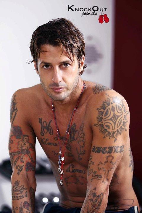 Fabrizio Corona per KnockOut Jewels | tatoos | Pinterest