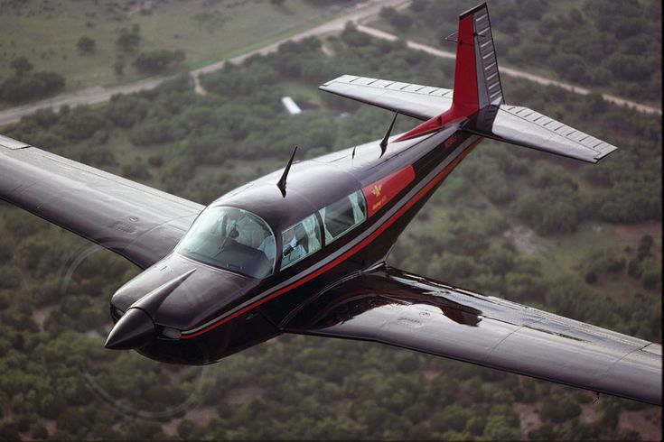 Mooney M20 - Harvey flew me to my first Alumini in a Mooney with my ...