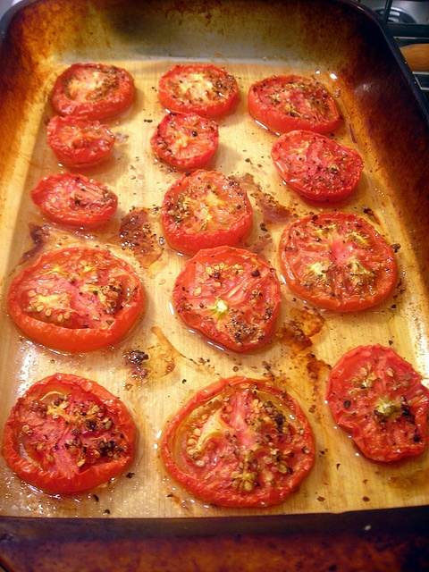 Slow-roasted tomatoes. | healthy info | Pinterest