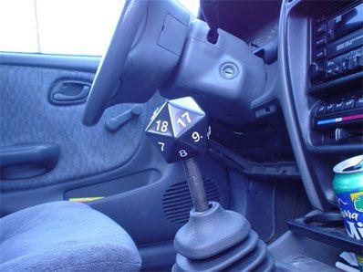 nerd gear shifter