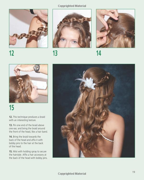 Wedding Hairstyles Instructions Wedding Hairstyle Step by
