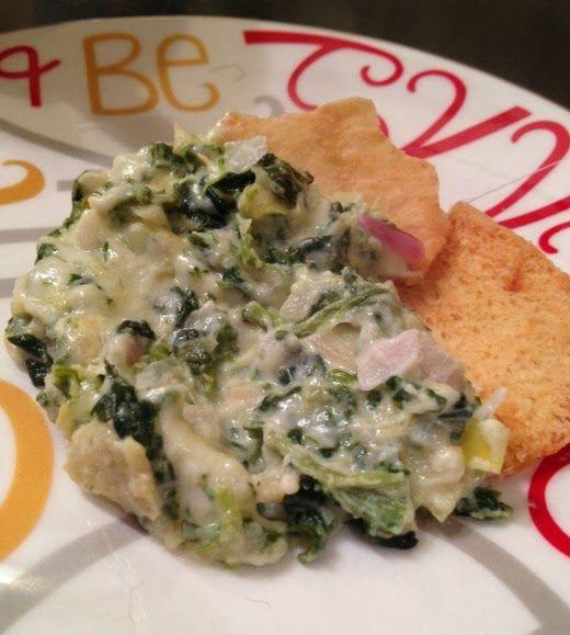 the best skinny spinach and artichoke dip recipe, ever.