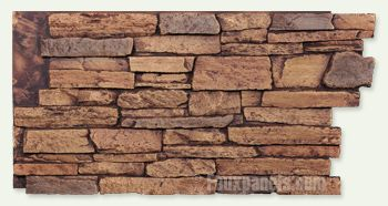 faux stone brick panels backsplash idea for my kitchen