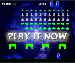 dalek invaders flash game