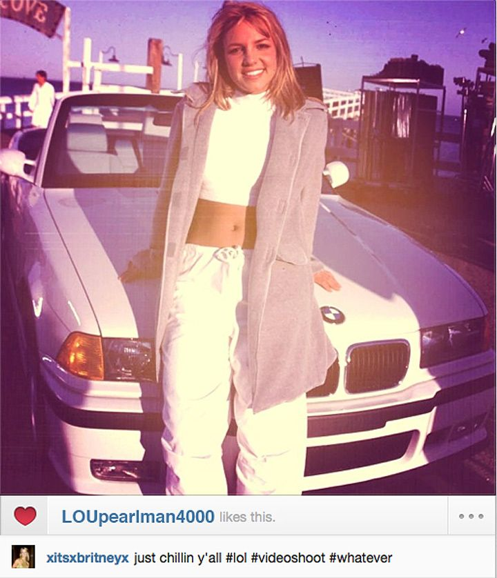 The Instagrams by Britney Spears That You'll Never See Britney Spears Instagram