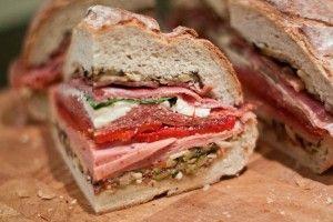 The Monster Muffaletta Sandwich | Delicious | Pinterest