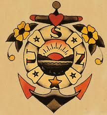 sailor jerry heart arrow  Sailors