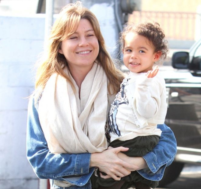 Ellen Pompeo without makeup : Mommys and Daddys : Pinterest