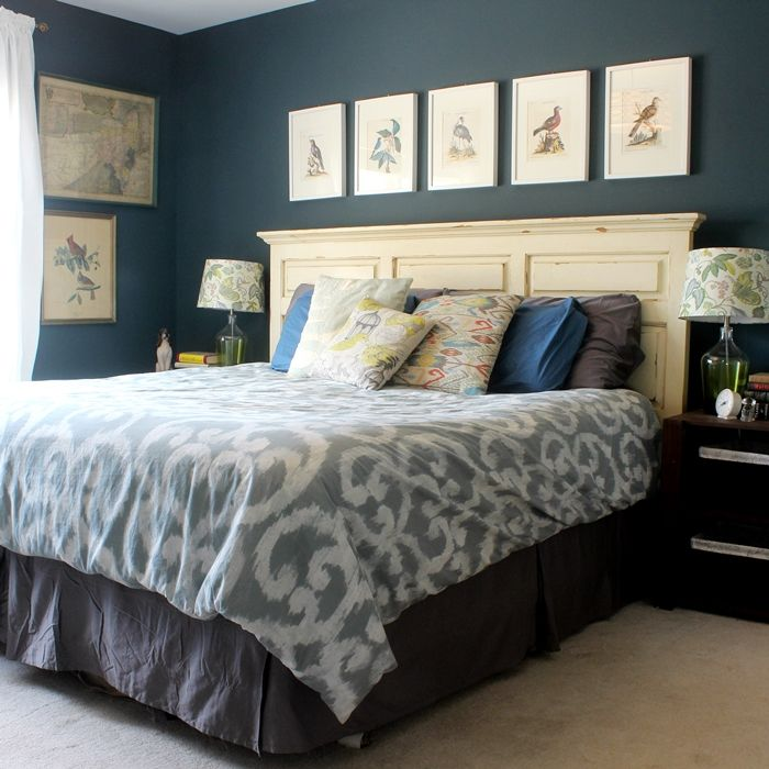 bird and octopus and dog themed master bedroom tour
