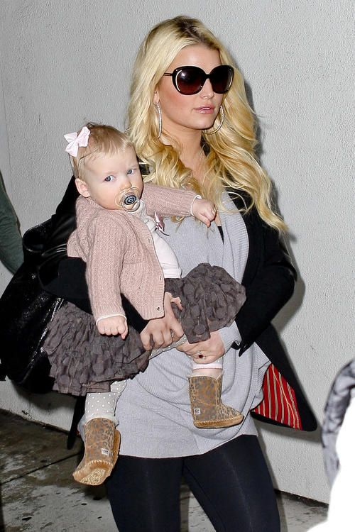 How cute and stylish is Jessica Simpson's daughter, Maxwell?!