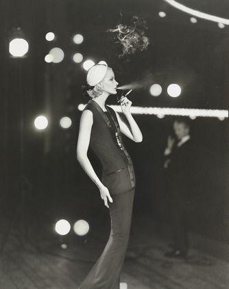 Richard Avedon, 'Sunny Harnett in Dior, Théâtre Marigny, Paris', 1954